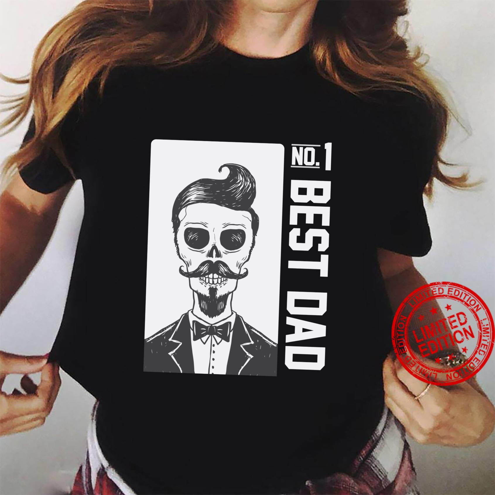 #1 DAD Best Dad for Birthday Father's Day Shirt ladies tee