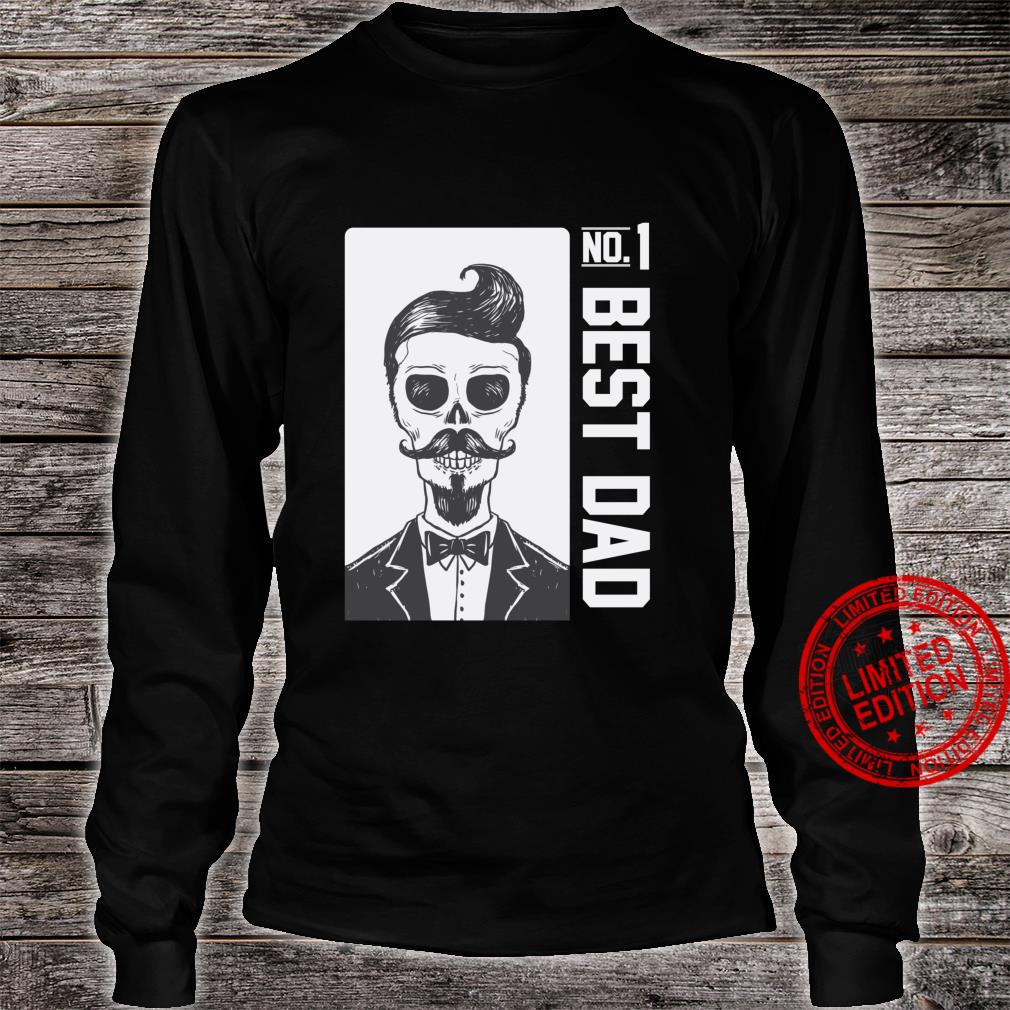 #1 DAD Best Dad for Birthday Father's Day Shirt long sleeved