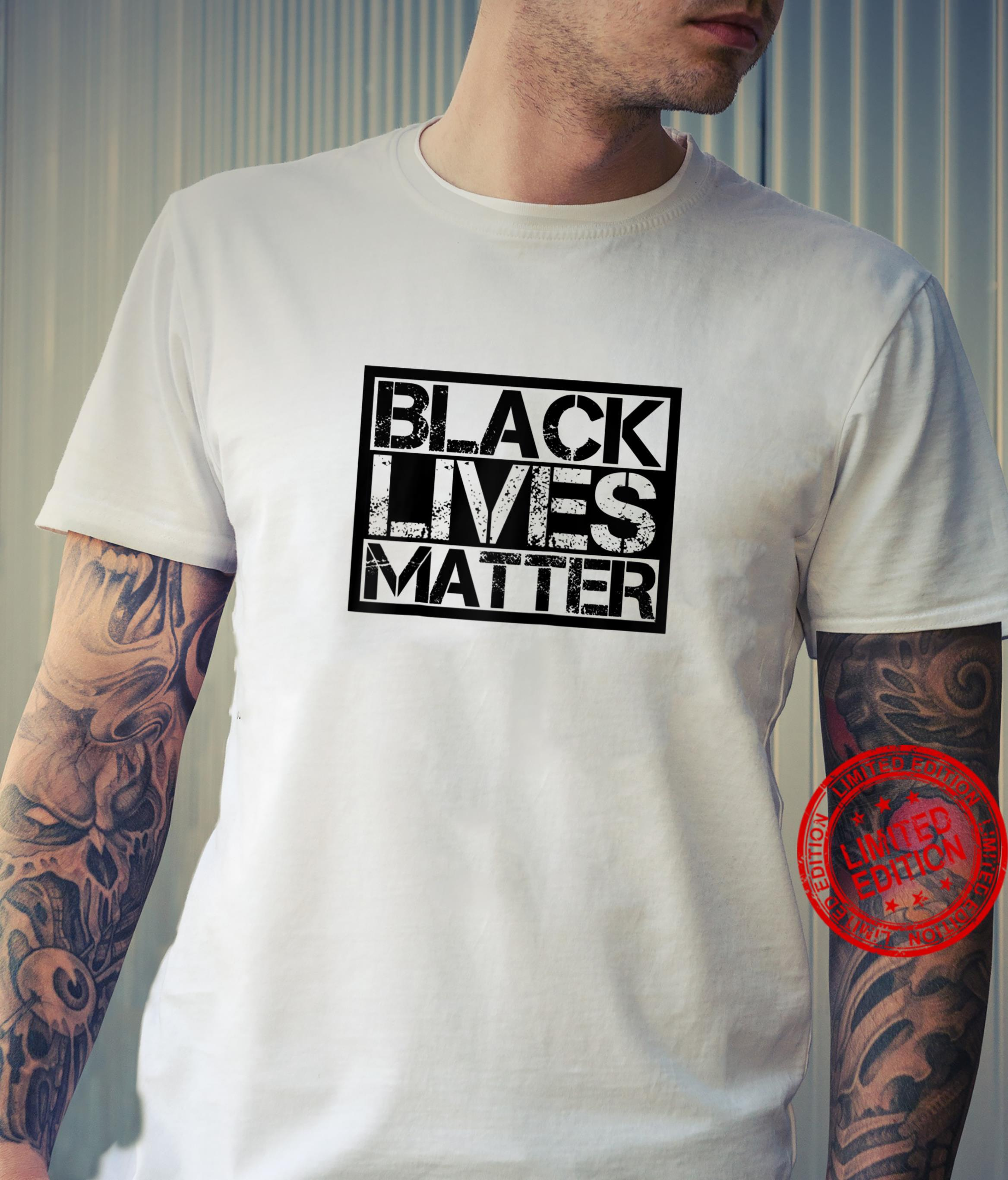 Black Lives Matter Shirt for BLM Protest Awesome Unisex Shirt